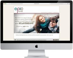 Epic Homes Website Design