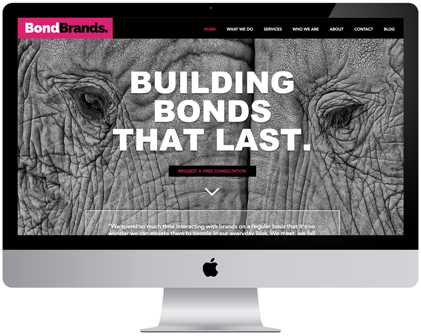 Bond Brands Website