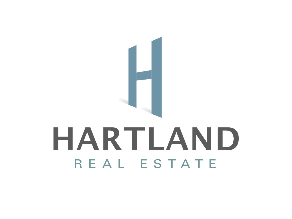 Hartland Real Estate Logo Design