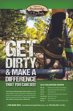 Breckenridge Trails Volunteer Poster