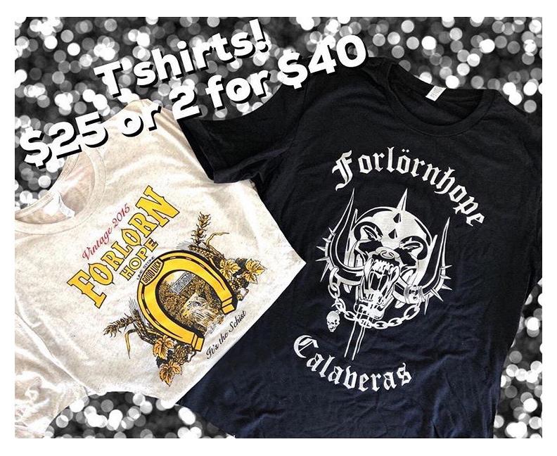 Forlorn Hope T-Shirt Designs