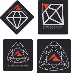 Avalanche Sports Sticker Design