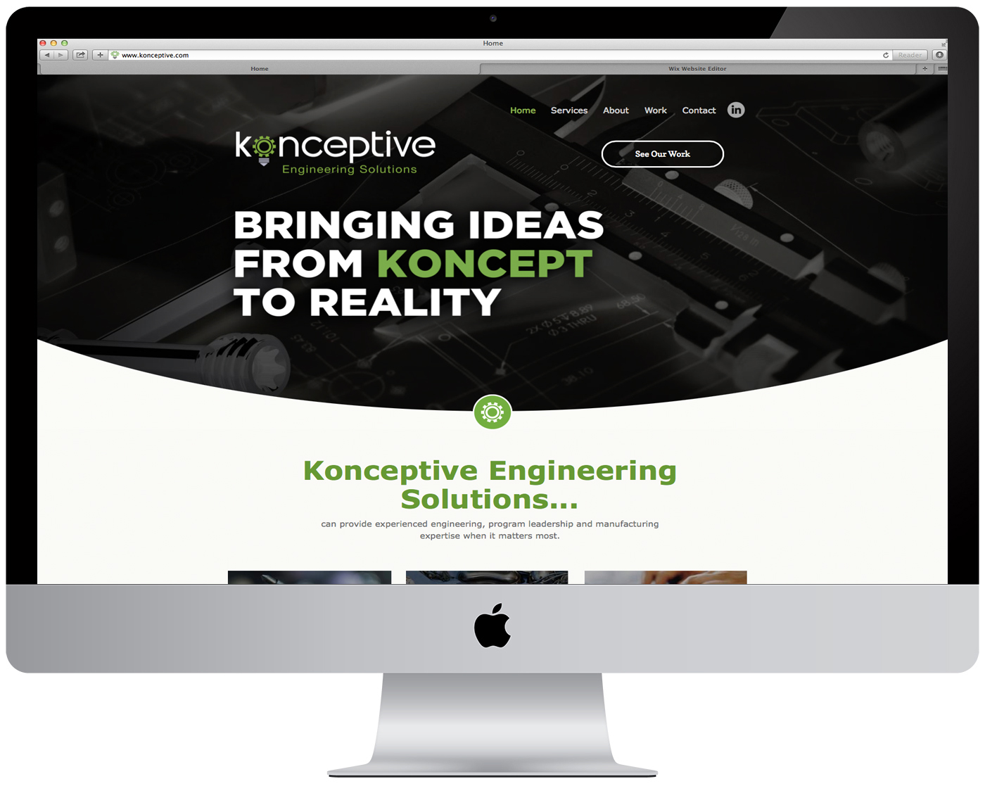 Konceptive Engineering Website