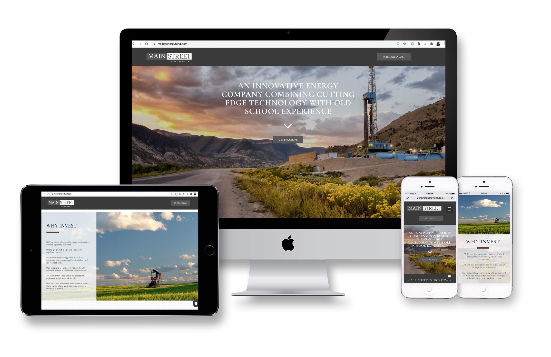Main Street Energy Fund Website