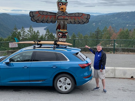 Day 2 of Mary Ann's Electric Drive (On the way to Tofino/Ucluelet)