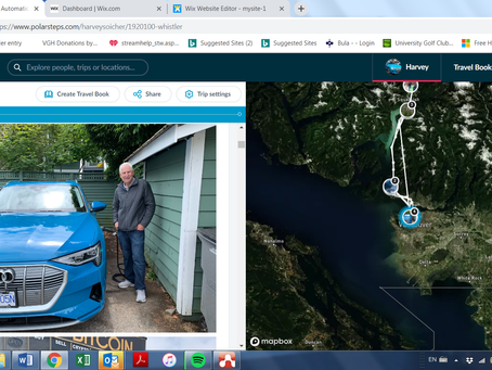 My 1st Electric  Drive:   Vancouver to Whistler, Return.  June 28th