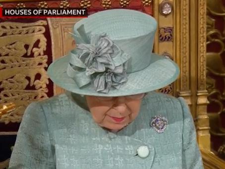 Relevant legislative changes in the Queen's Speech, today