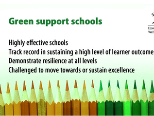 We are now a GREEN school!