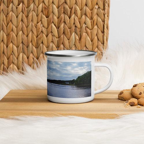 Riverside Enamel Mug