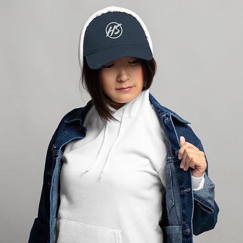 HS Logo Distressed Dad Hat
