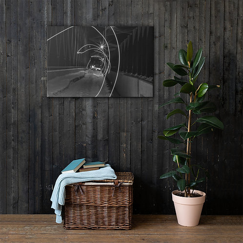 Waveform Canvas Print