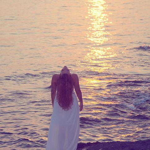 Merika, sunset