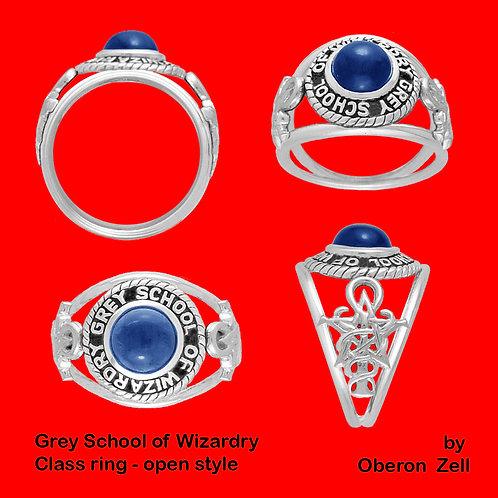 Grey School Class Ring (Open Style)