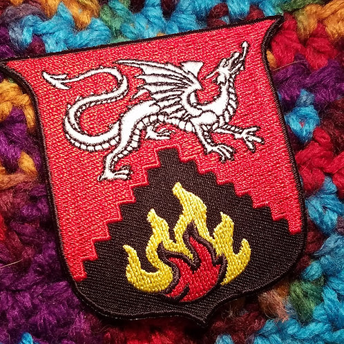 Flames Lodge Patch