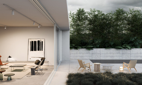render interior house lille france