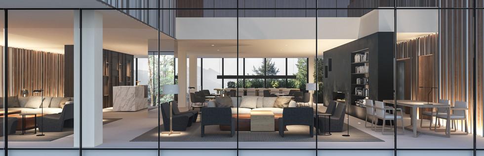 render 3d hotel interior tarruella trenchs