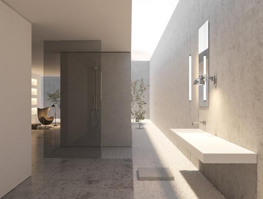 rendering interior design house jaen