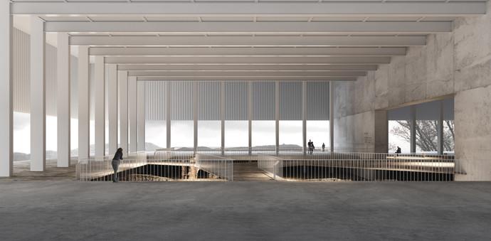 3d interior rendering architecture