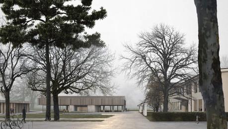 renders concurso arquitectura exterior colegio bätterkinden