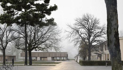 rendering competition exterior school bätterkinden
