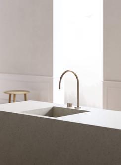 rendering interior kitchen faucet
