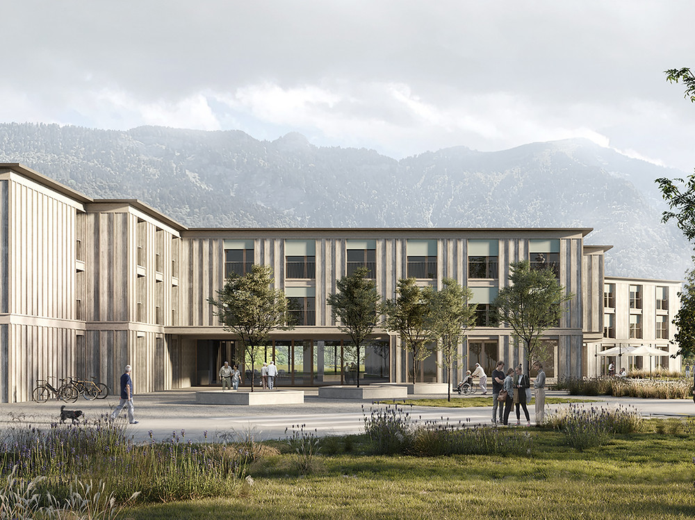 counson architectes exterior rendering winning competition