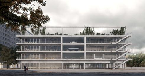 render concurso exterior colegio génova gnwa architekten