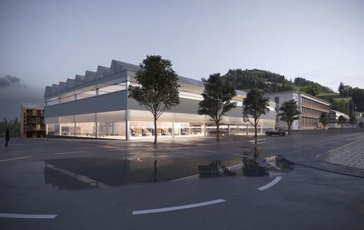 rendering competition exterior building raumbureau