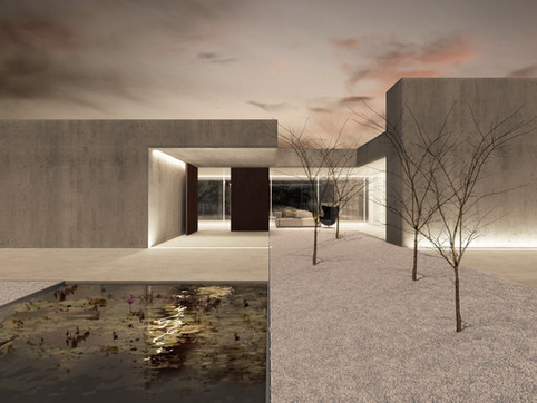 rendering house exterior jaen