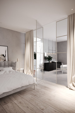 rendering interior house quebec