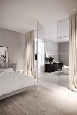 rendering interior house quebec