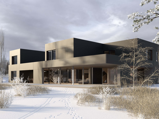 Renders for a House in Nottwil