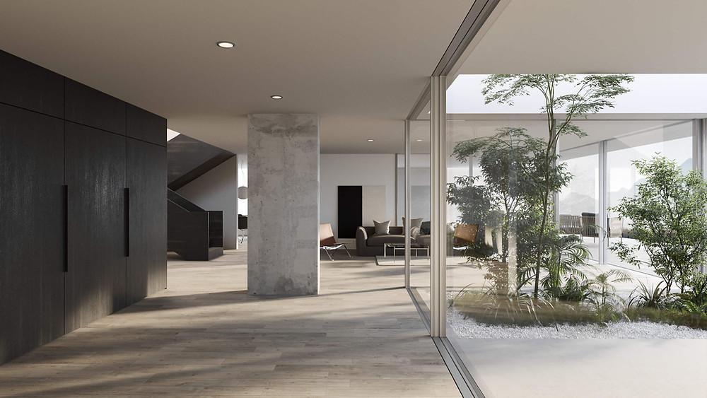 visualisierung haus hf architektur