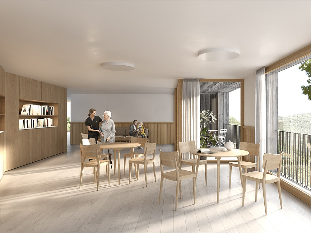 counson architectes interior rendering winning competition
