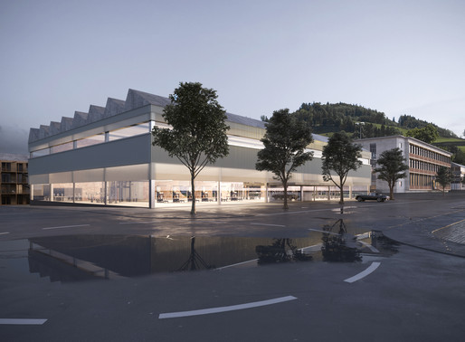 Architectural Competition Renderings for Steinel Campus in Einsiedeln