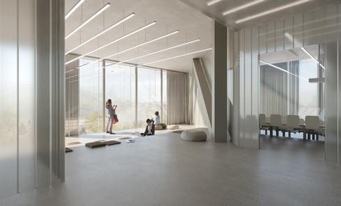 rendering competition interior campus jan kinsbergen architekten zürich