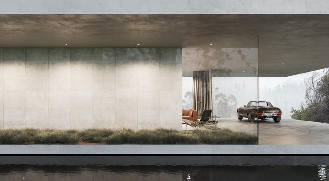 rendering exterior house
