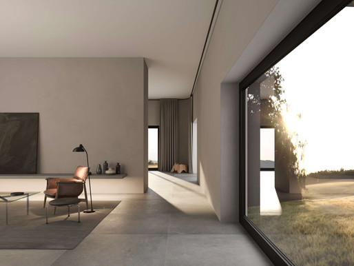 Renders and Interior Design for a House in Brussels
