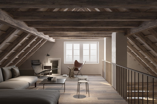 rendering interior house daluz gonzalez