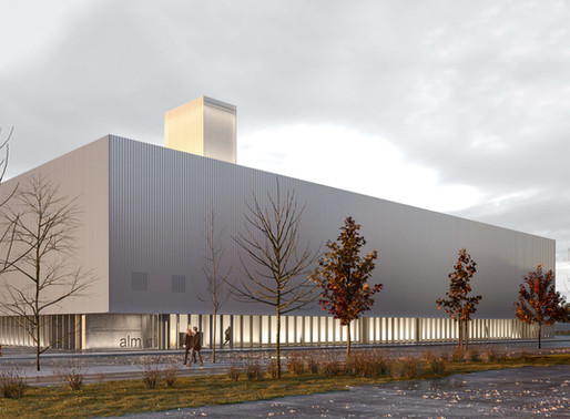 Renderings for a Competition, Sports Centre in Almería