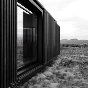 3d render of a cabin