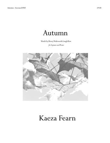 Autumn shee music cover