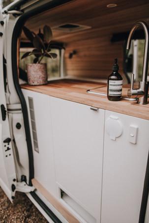 Water tank cupboard