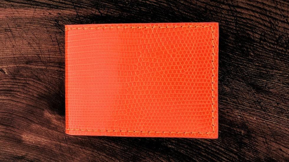 Orange Lizard Credit Card Holder