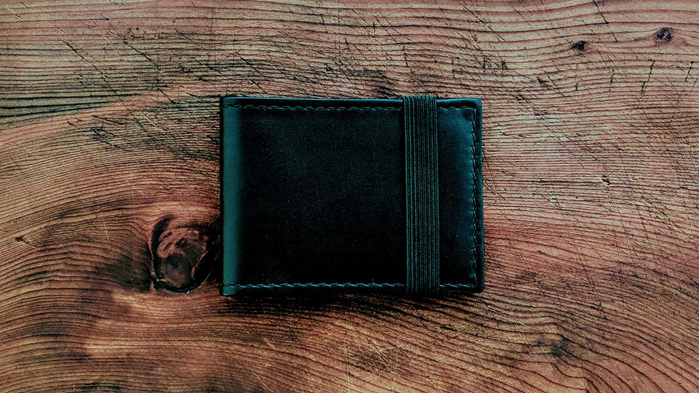 Slim Wallet / Elastic Band Closure