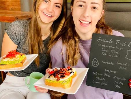 DIY Avocado Toast Bar for your Next Party