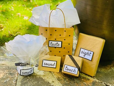 5 Senses Anniversary Gift Ideas