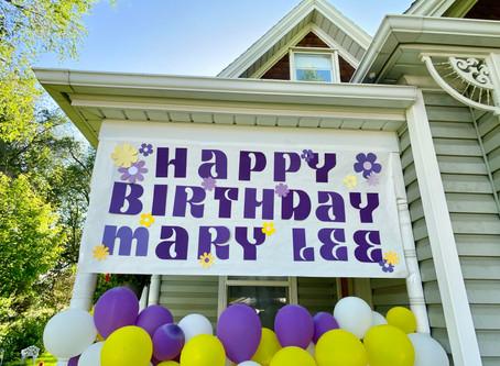 Surprise Social Distancing Birthday Party Recap