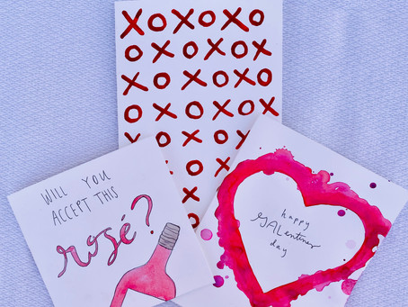 DIY Galentines Invitations