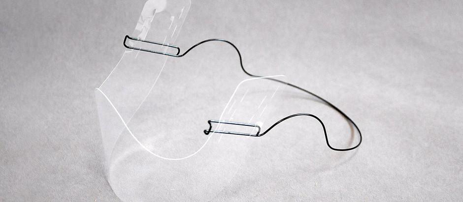 マウスシールドを快適に装着できる「耳掛け式マウスシールドフレーム」を販売開始